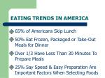 eating trends in america