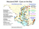 maryland dnr eyes on the bay
