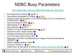 ndbc buoy parameters http www ndbc noaa gov maps chesapeake bay shtml