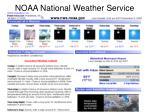 noaa national weather service