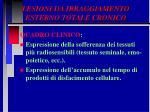 lesioni da irraggiamento esterno totale cronico56