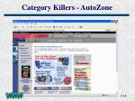 category killers autozone