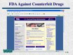 fda against counterfeit drugs