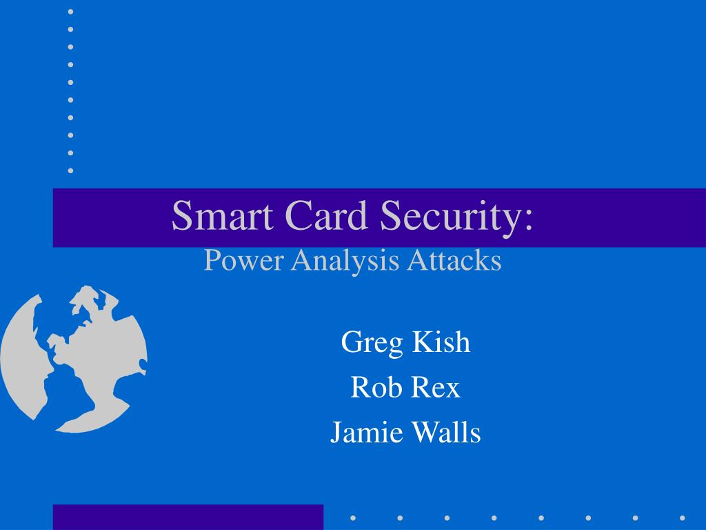 smart card security power analysis attacks l.