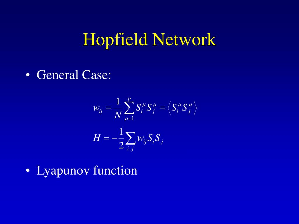 Hopfield Network