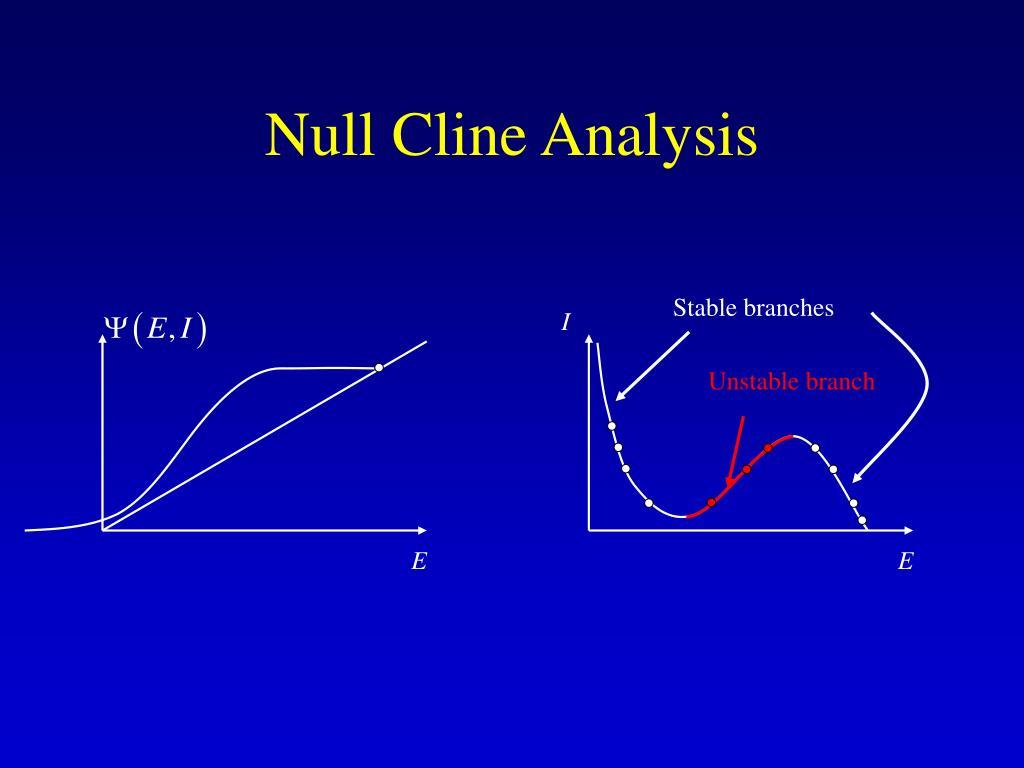 Null Cline Analysis