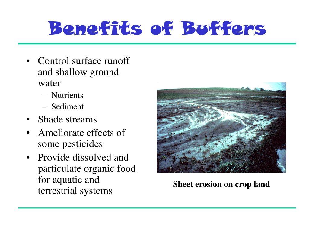 Benefits of Buffers
