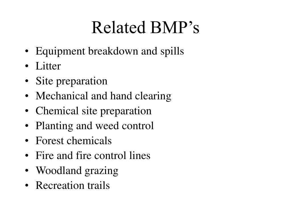 Related BMP's
