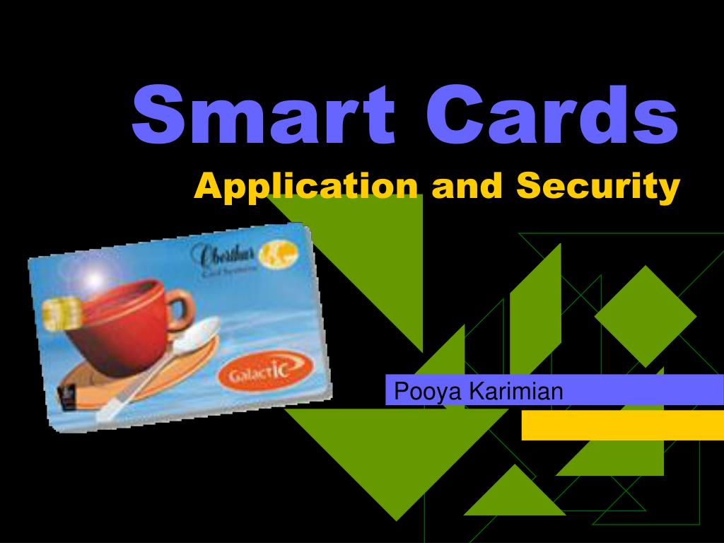 smart cards application and security l.