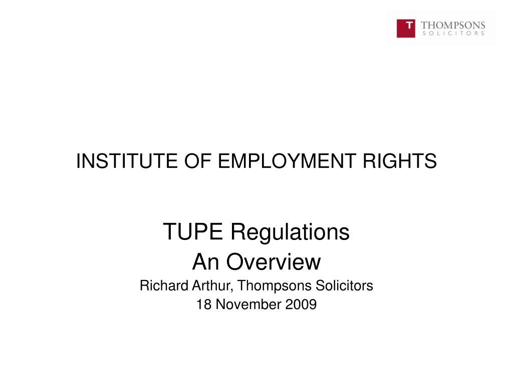 institute of employment rights l.