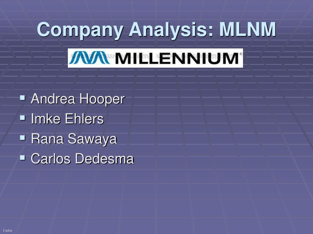 company analysis mlnm l.