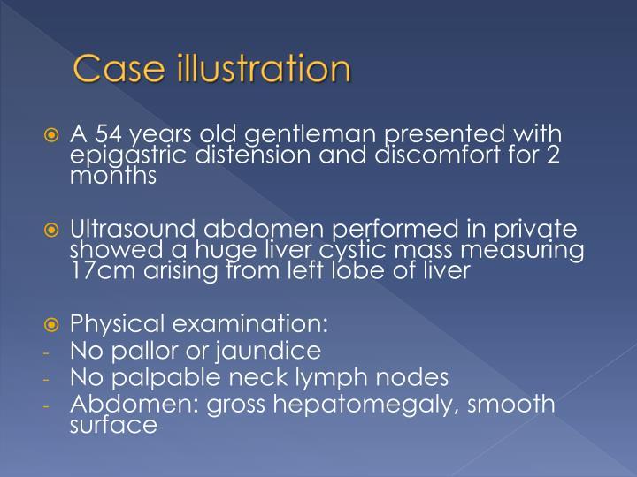 Case illustration