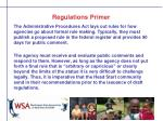 regulations primer