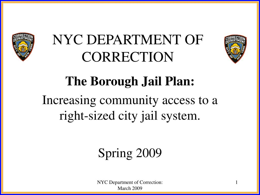 nyc department of correction l.