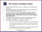 the problem with rikers island