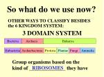 3 domain system
