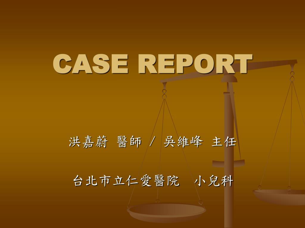 case report l.