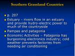 southern grassland countries