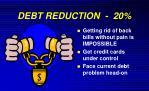 debt reduction 20