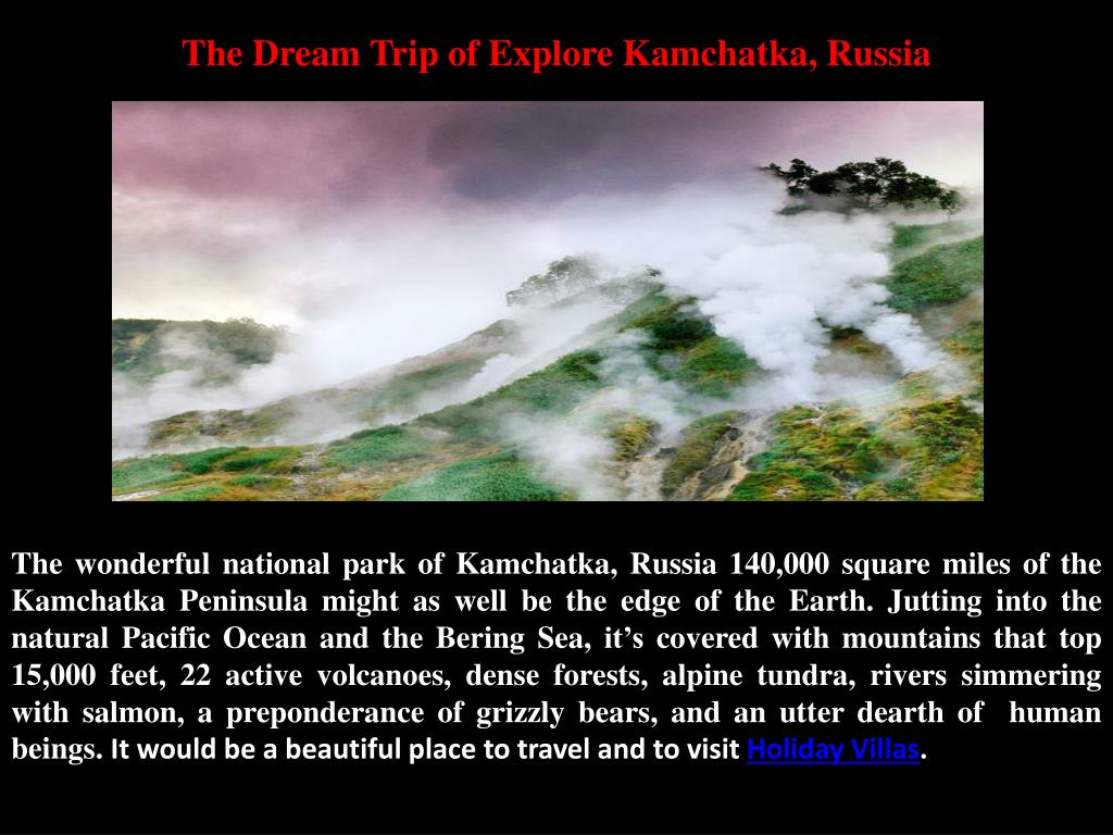 the dream trip of explore kamchatka russia l.