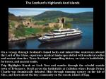 the scotland s highlands and islands