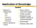 application of knowledge7