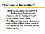 barriers to innovation9