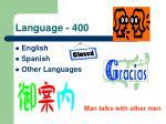 language 400