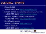 cultural sports
