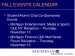 fall events calendar10