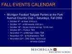 fall events calendar12