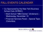fall events calendar13