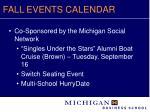 fall events calendar14
