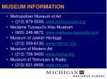 museum information29
