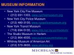 museum information30