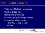 past club events7
