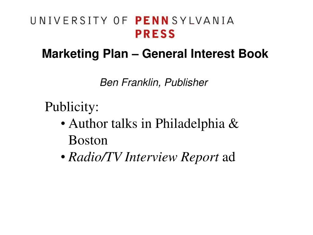Ben Franklin, Publisher