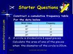 starter questions35