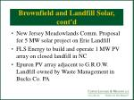 brownfield and landfill solar cont d