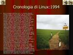cronologia di linux 1994