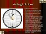 vantaggi di linux