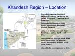 khandesh region location