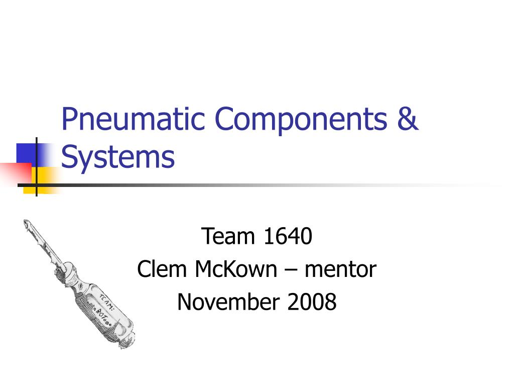 pneumatic components systems l.