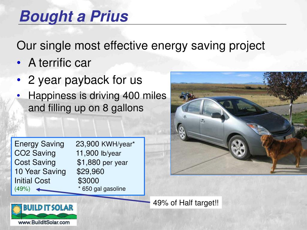 Bought a Prius