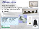 efficient lights