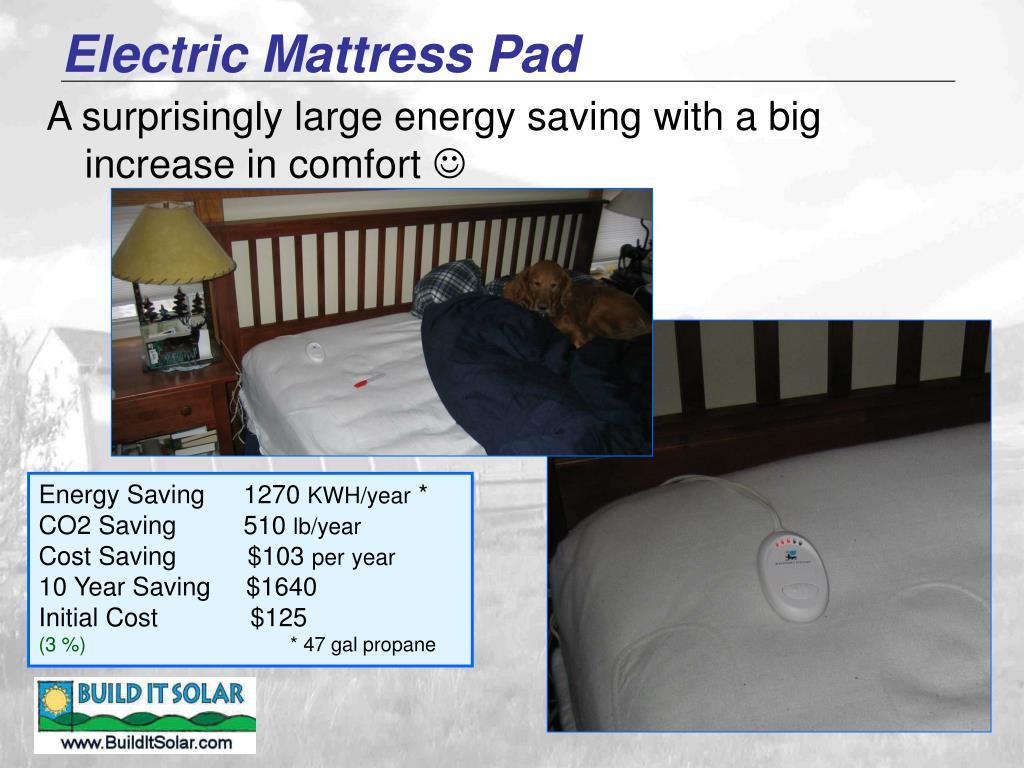 Electric Mattress Pad