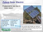 future solar electric