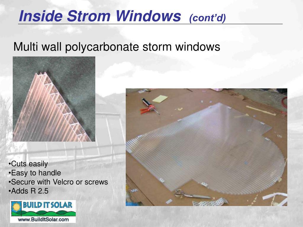 Inside Strom Windows