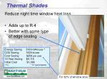 thermal shades