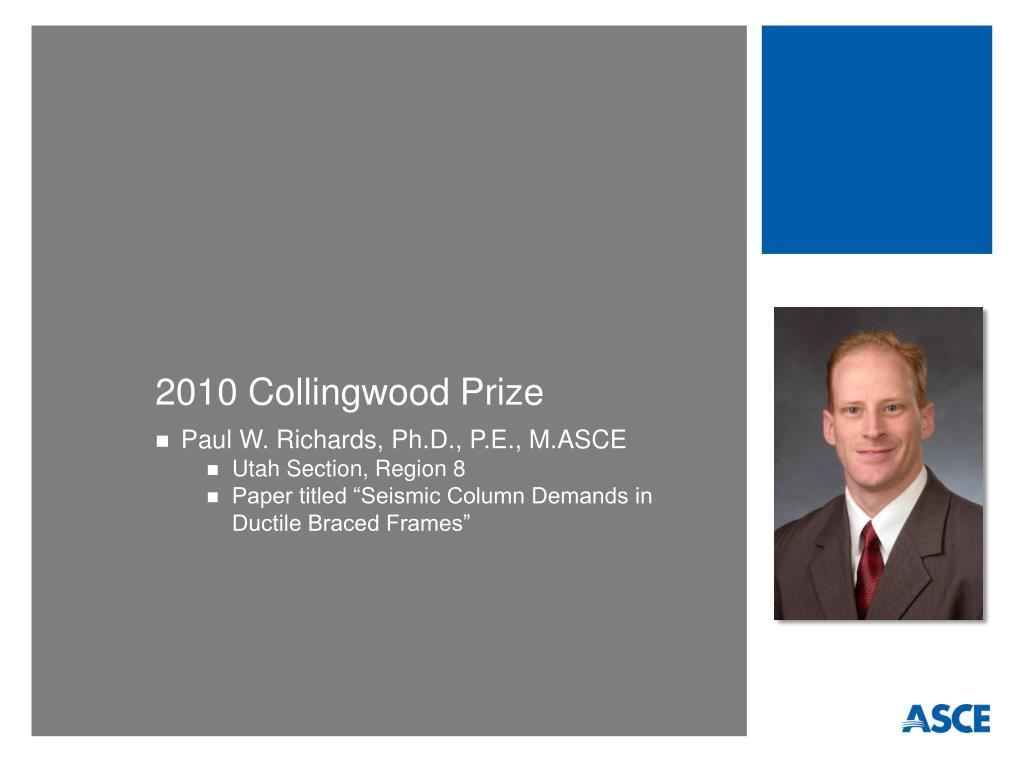 2010 Collingwood Prize